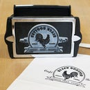 Custom Laser Engraved Rubber Stamp
