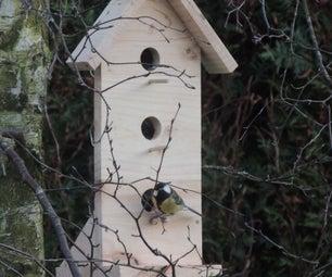 Quick and Practice Bird Feeder ( With Manson Jar )