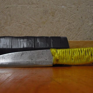 Knife From a Car's Leaf Spring