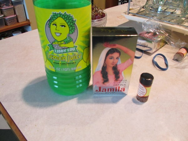 How to Store/ Save Your Henna Tattoo Paste