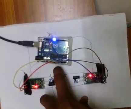 Simplest Object Counter & Room Electricity Controller Using Arduino and IR Sensors