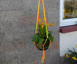 How to Make a Paracord Plant Hanger