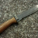 Refinishing a Knife