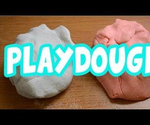 How to Make Playdough - No Bake