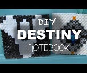 DIY: Destiny Mini Notebook | Bead Sprites (Perler/Hama/Arktal Beads)
