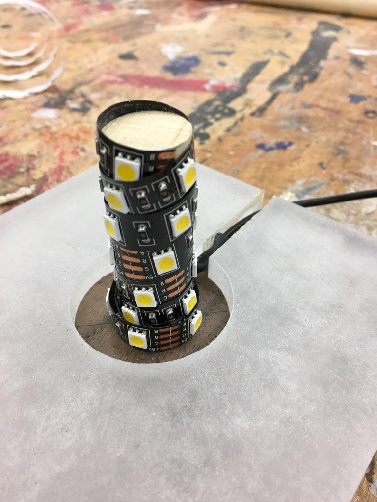 Attach LED Strip