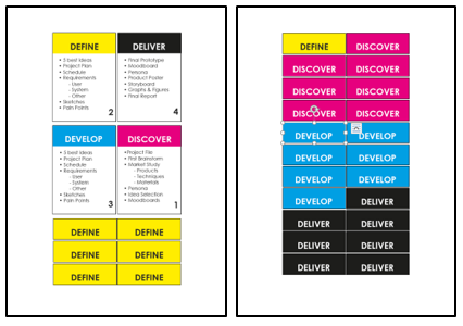 Information & Design Cards