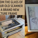 Turn Your Dead Scanner Into a Picture Frame