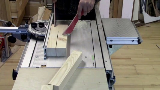 Cut the Pieces in Width