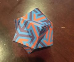 One Paper Stellated Octohedron