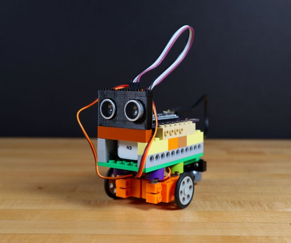 Obstacle Avoiding LEGO Robot