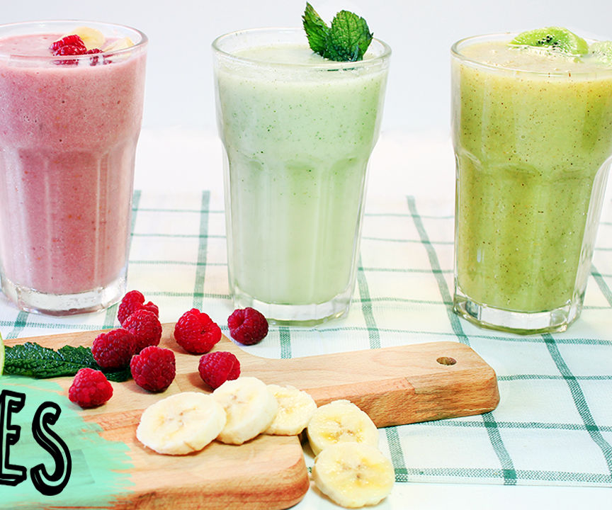 3 Easy and Healthy Smoothies