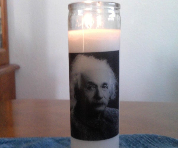 Memorial or Religious Candle