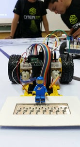 Following Line Arduino PCB