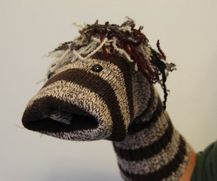 Upcycled Sock Puppet