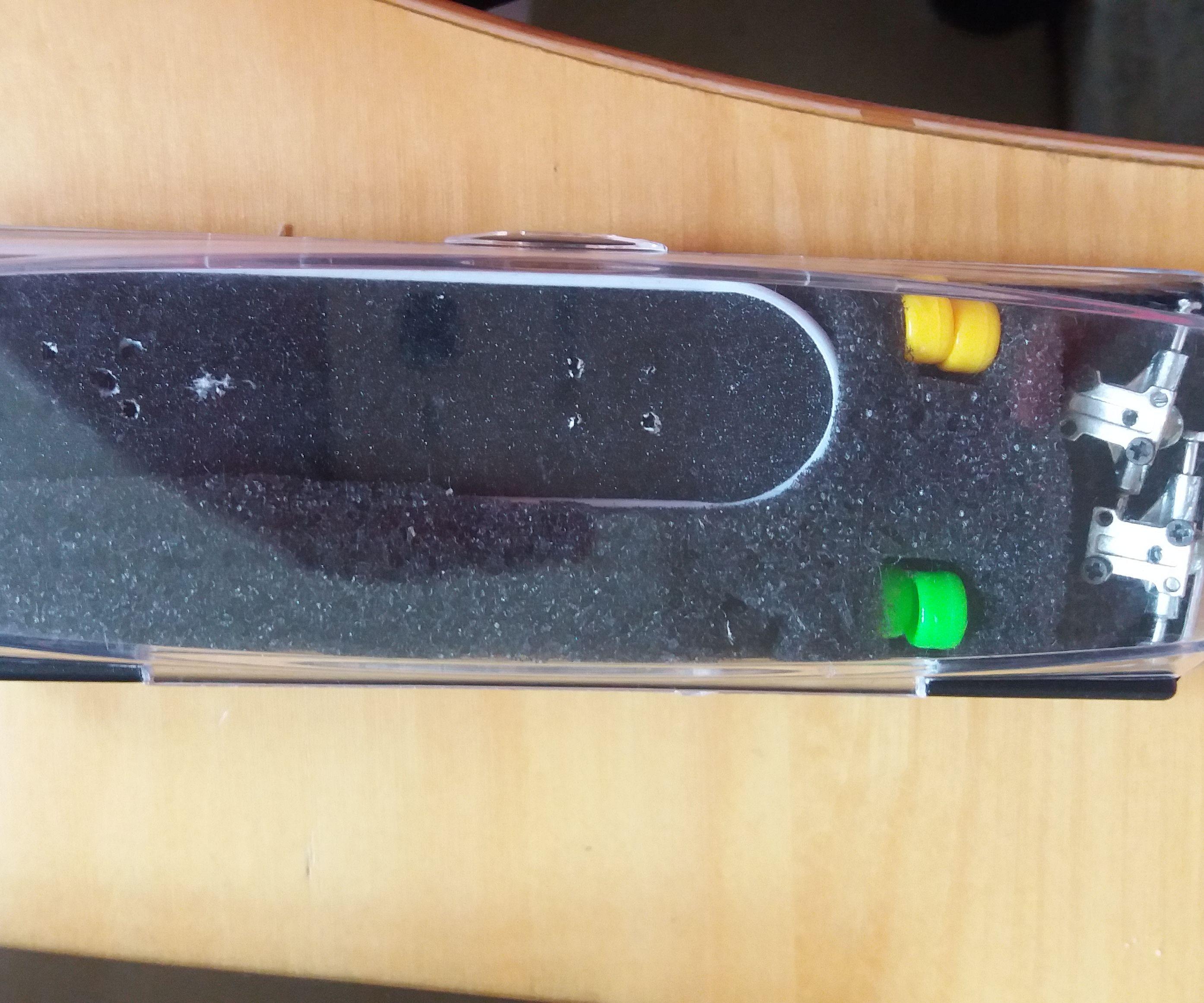 Mini Skateboard Tech Deck Pocket Sized Case