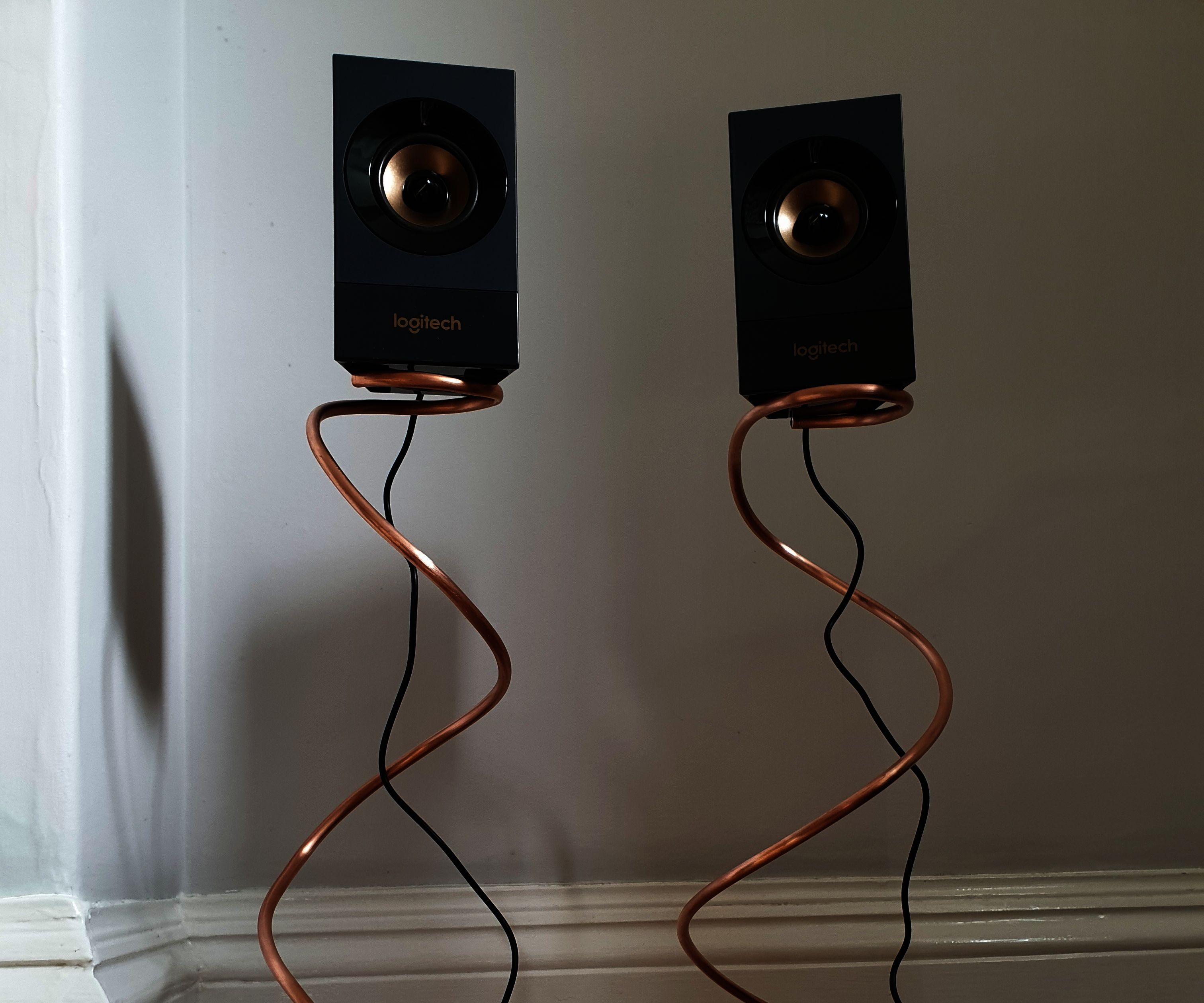 Make Your Own Adjustable Height Speaker Stands
