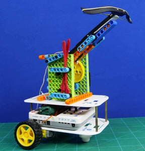Smartphone Controlled Archery Robot