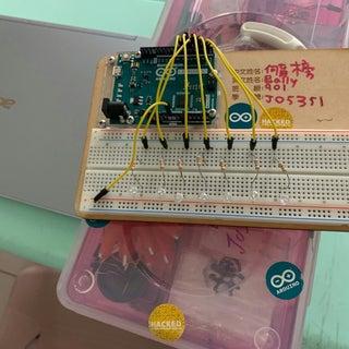 Simple Arduino POV Wand