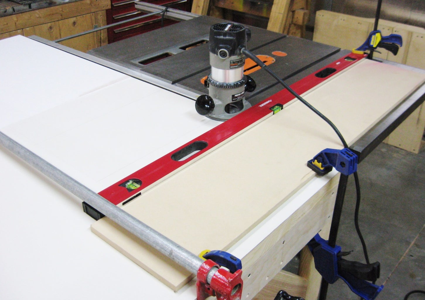Extend Miter Track Slots