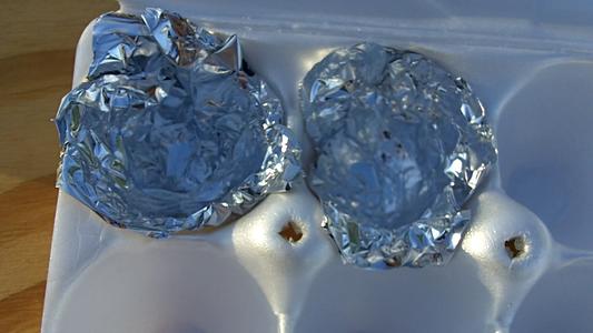 Add Aluminum Foil (Optional)