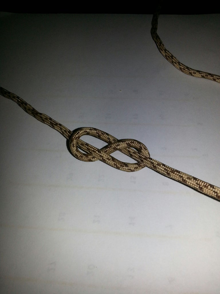 Tie the Figure Eight Knot