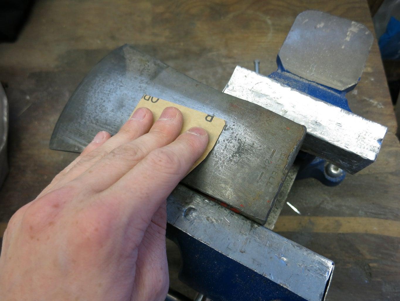 Sanding & Filing the Head