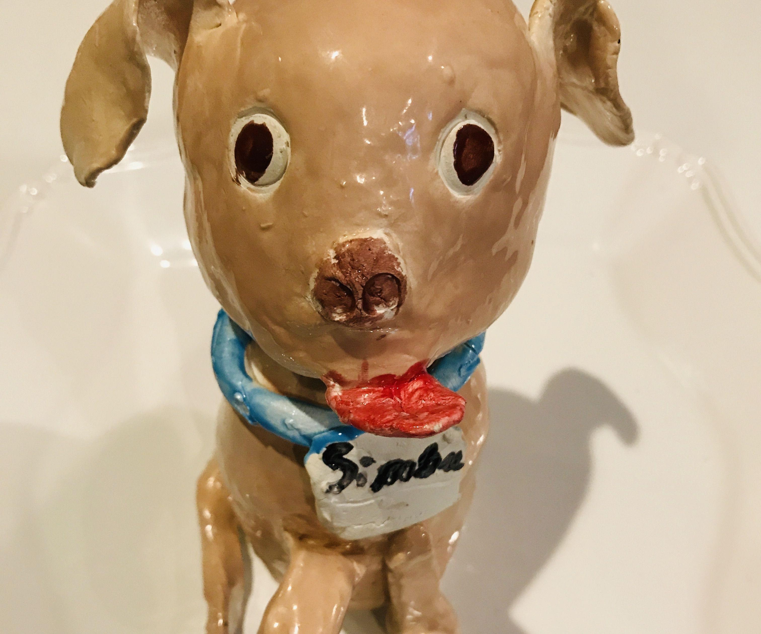 My Clay Dog Bobble Head
