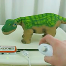 Remote Control Pleo with Wii Nunchuck