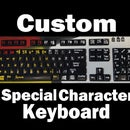 Custom Special Character Keyboard