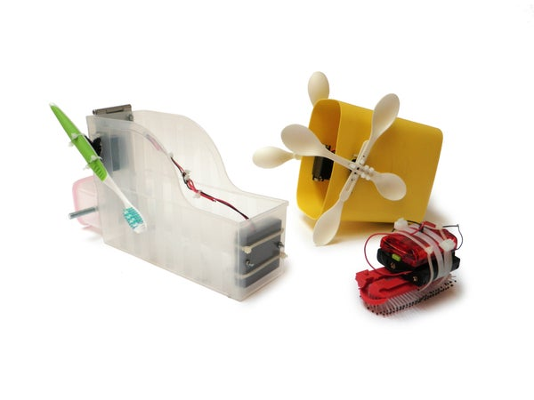 Simple Bot Switches, Sensors, and Modules