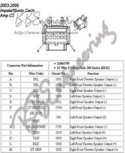 2004 chevy impala radio wiring   wiring diagram 173 attack  colangeloarredamenti.it