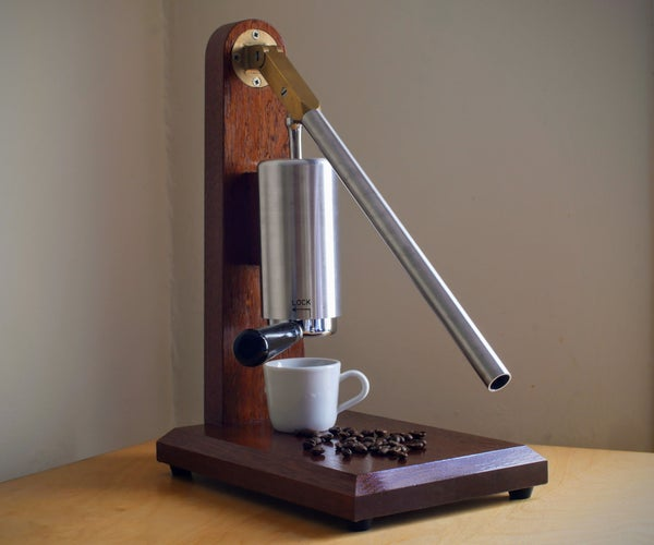 How to Make a Lever Espresso Coffee Machine
