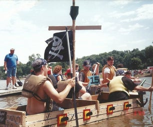 AHOY! Cardboard Boat for Racing