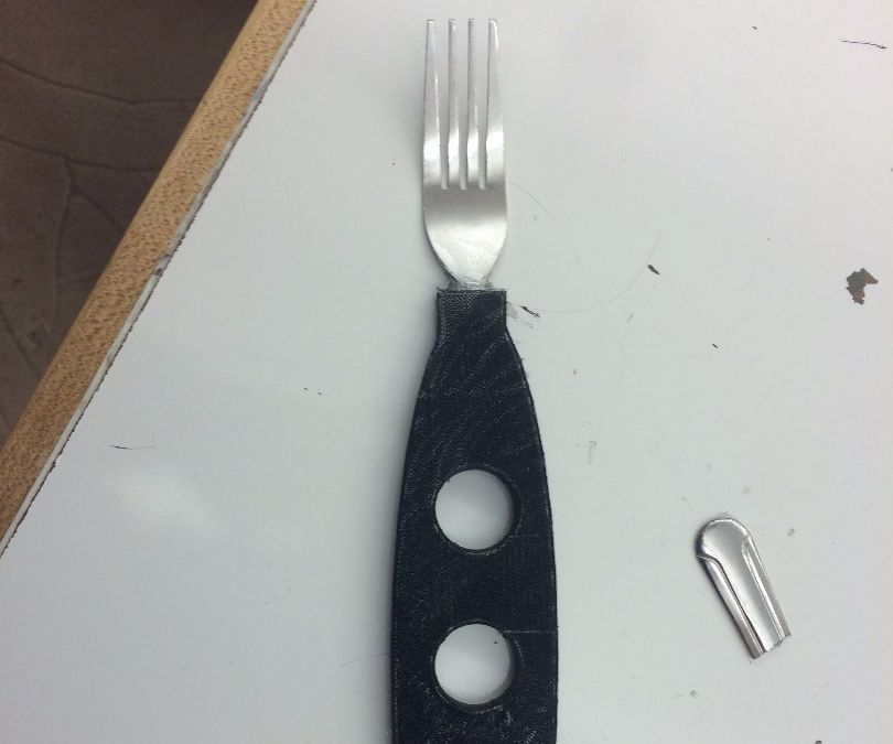 Easy Grip 3-D Printed Arthritis Fork