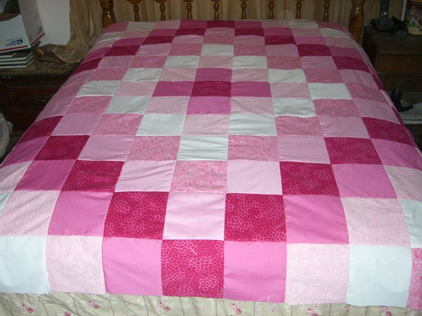 Make an Easy Weekend Patchwork Quilt Topper