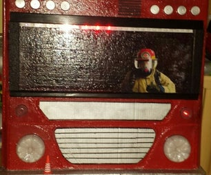 Firefighter Truck Painting
