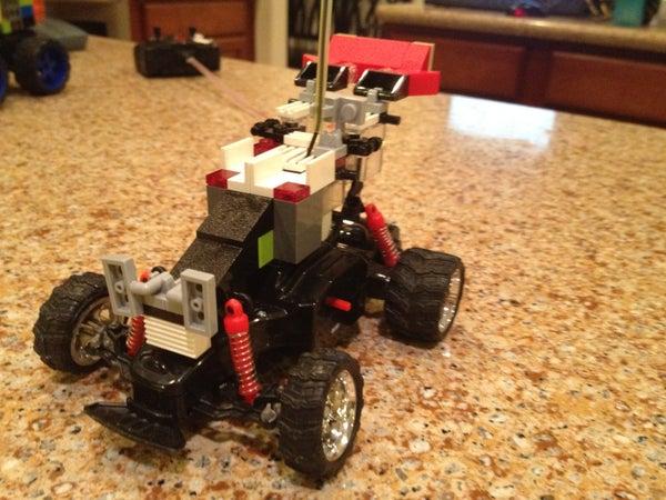 Easy to Make RC Lego Car.