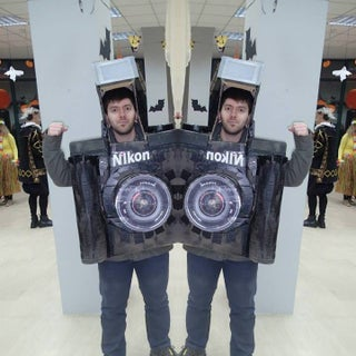 FULLY FUNCTIONAL Camera Costume