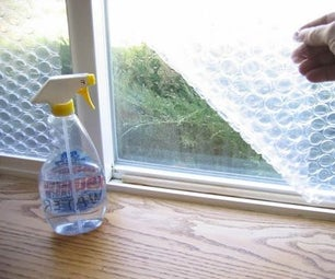 Bubble Wrap Insulation for Windows - How to Guide