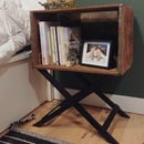 Modify a Crate Into a Bedside Table