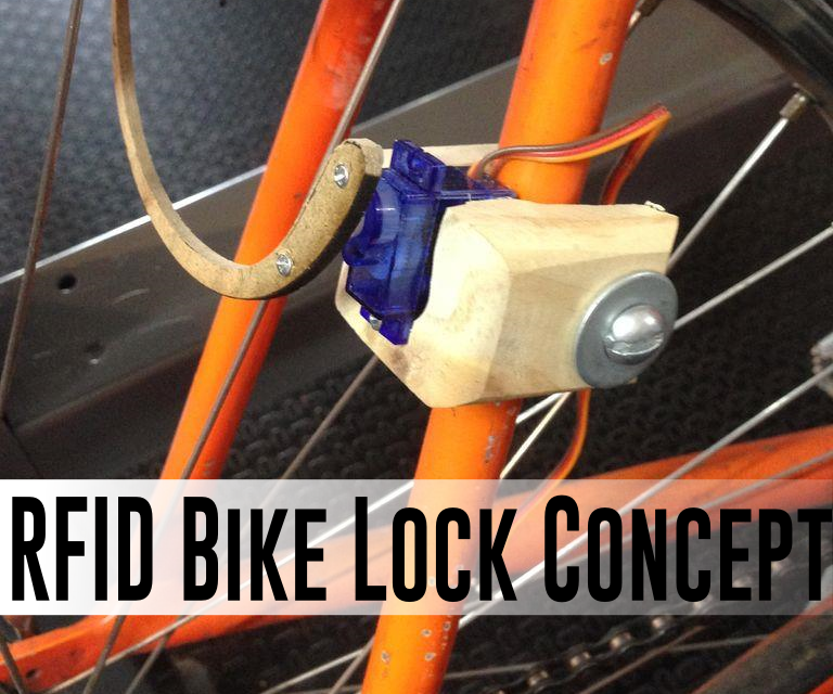 RFID Bicycle Lock Prototype
