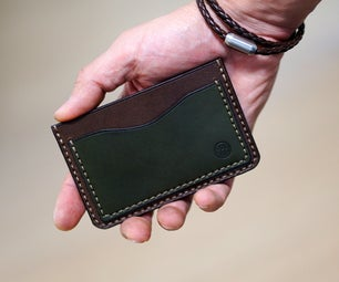 Simple Leather Cardholder