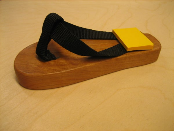 How to Make a Wooden Flip-Flop Paper Weight / Notepad Holder
