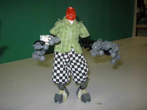 Making Bionicle Animation Puppets for Short Films