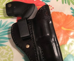 IWB Holster for Taurus 357 Magnum Snub Nose
