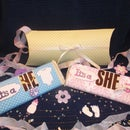 Gender Reveal Candy Bar Wraps