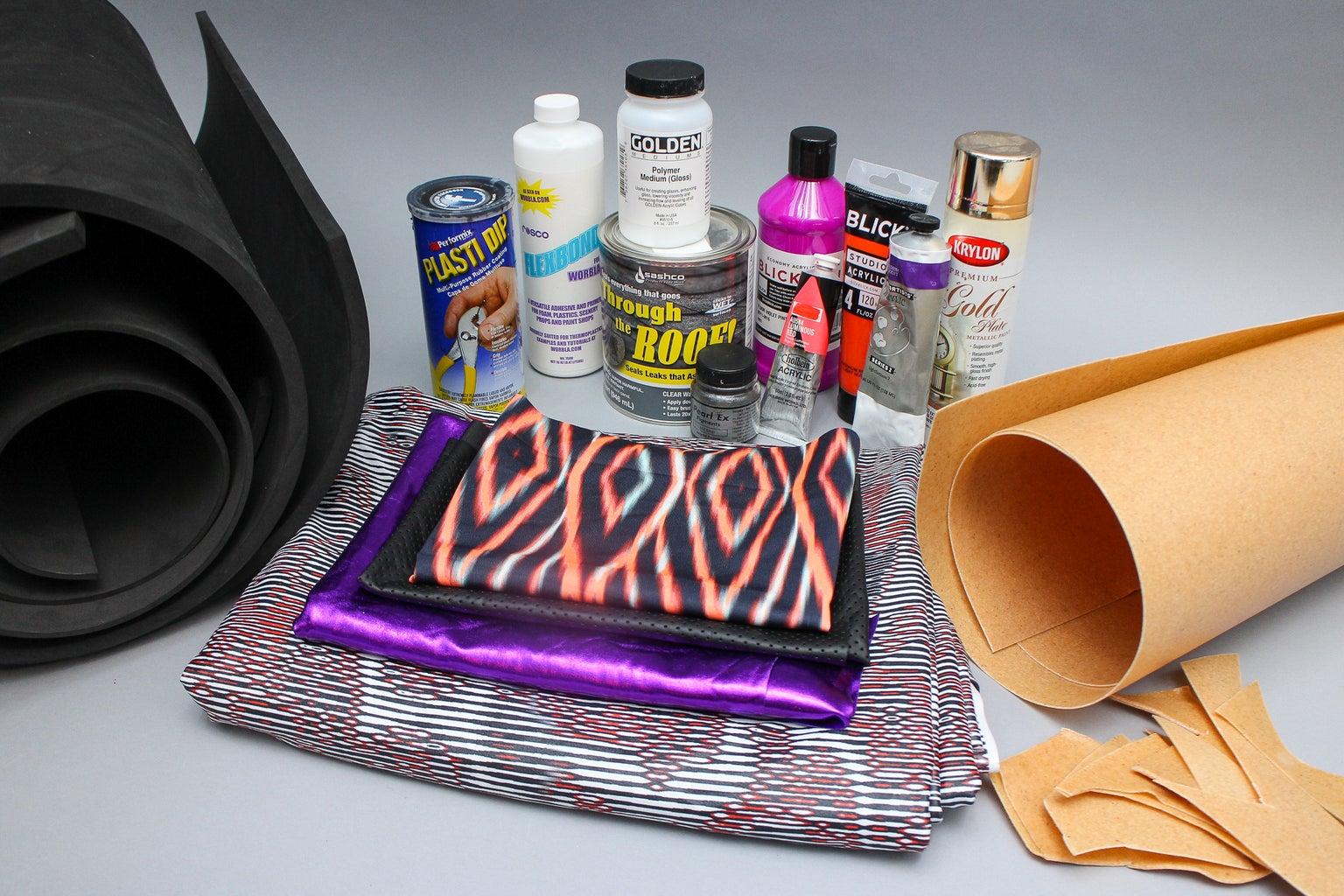 Materials for Superhero Costume Construction