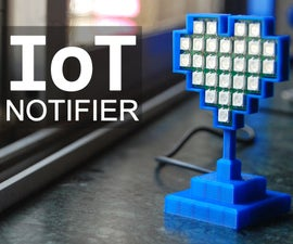 IoT Notifier Using ESP-12E