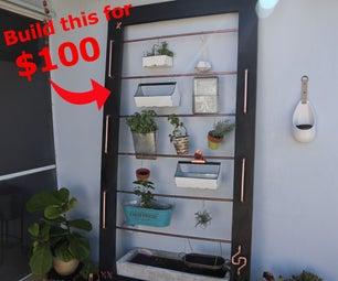 My $100 Vertical Self Watering Herb Garden